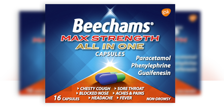 Beechams® Max Strength All In One Capsules