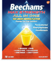Find out more about Beechams® Max Strength All In One Hot Lemon Menthol
