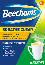 Beechams Max Strength All In One Hot Lemon Menthol